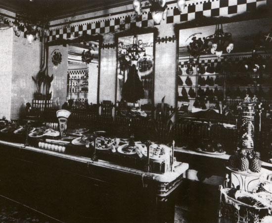 A corner of Peck shop