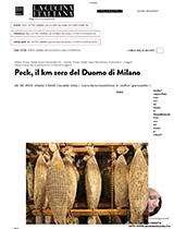 Peck, il km 0 del Duomo di Milano