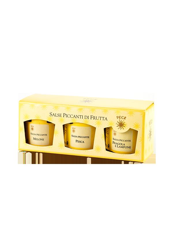 SALSE PICCANTI DI FRUTTA: MELONE, PESCA E FRAGOLA 144 g
