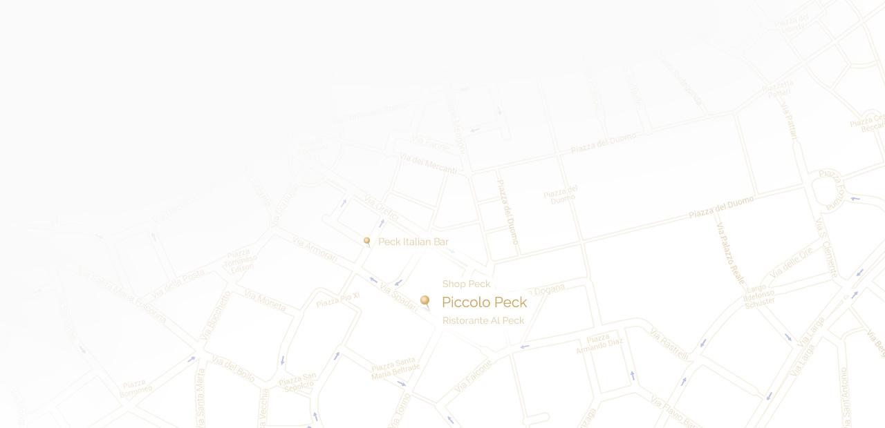 Piccolo Peck Map
